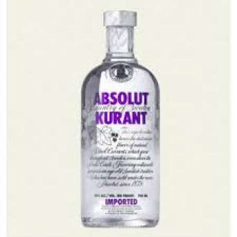 Agregar Vodka Absolut Kurant al carro