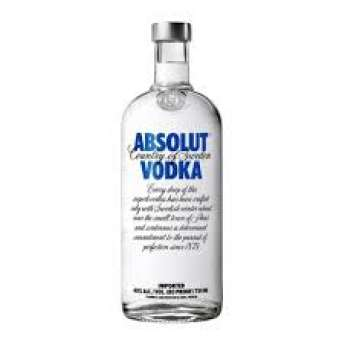 Agregar Vodka Absolut Blue al carro