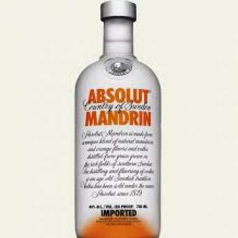 Agregar Vodka Absolut Mandarin al carro