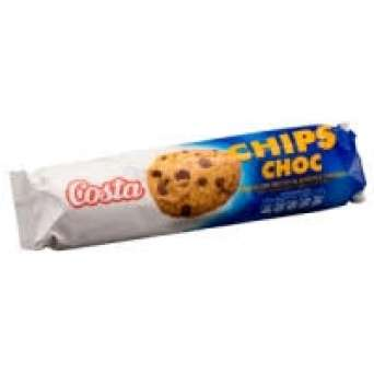 Agregar Galleta Costa choco chips 125 grs al carro