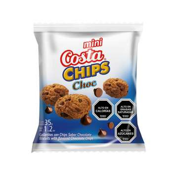 Agregar Galleta Mini Chips Costa 35 Gr al carro