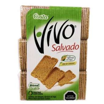Agregar Galleta Vivo Salvado x 3 al carro