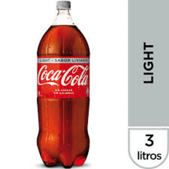 Agregar Coca-Cola Light 3 Lts al carro