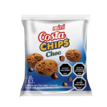 Agregar Galleta Chip Choc 35 grs. Costa al carro