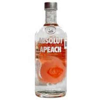 Agregar Vodka Absolut Apeach al carro