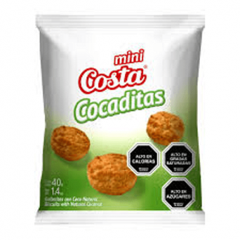 Agregar Galleta Mini Cocaditas 40 grs. Costa al carro