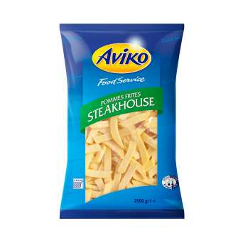 Agregar Papas Prefritas Steak house Aviko 2,5 kgs al carro
