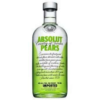 Agregar Vodka Absolut Pear al carro